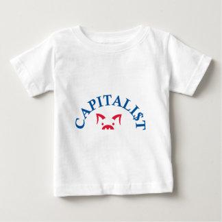 Cerdo capitalista con $ tshirt