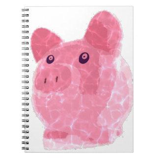 cerdo codicioso cuaderno