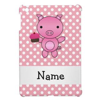 Cerdo conocido personalizado con los lunares de la iPad mini cárcasas