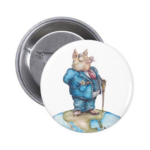 Cerdo corporativo pin