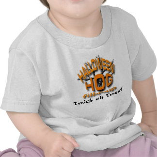 Cerdo de Halloween Camisetas