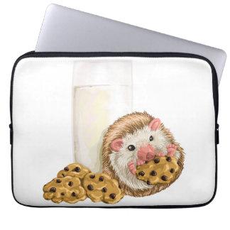 Cerdo de la galleta fundas computadoras