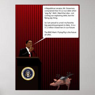 Cerdo de la guerra poster