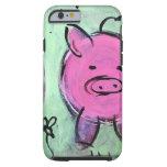 cerdo de la mamá funda de iPhone 6 tough