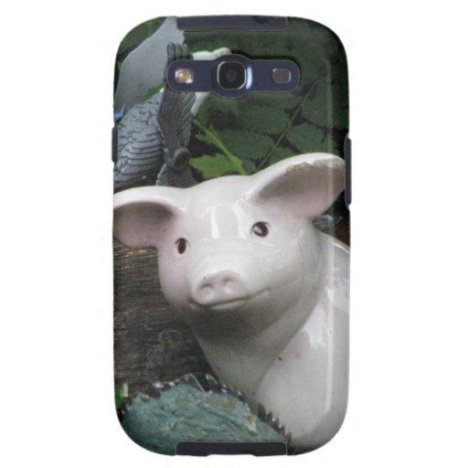 Cerdo de la porcelana samsung galaxy s3 carcasas