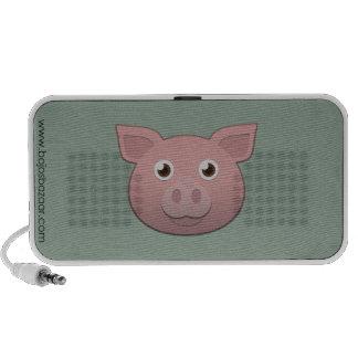 Cerdo de papel altavoz de viaje