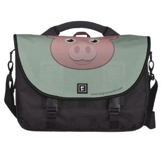 Cerdo de papel bolsas de portatil