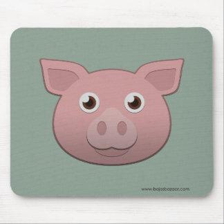 Cerdo de papel alfombrilla de raton