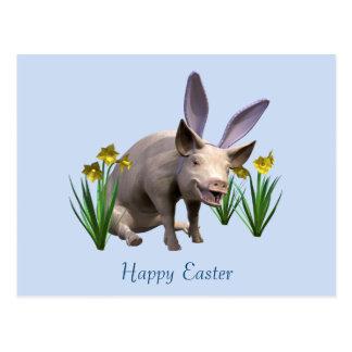 Cerdo de Pascua Postales