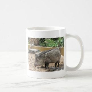 CERDO DE WID TAZA DE CAFÉ