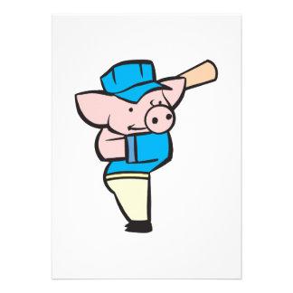 cerdo del bateador del béisbol comunicados personales