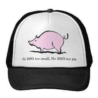 Cerdo del Bbq Gorras