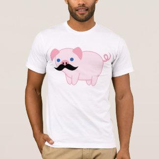 Cerdo del bigote playera