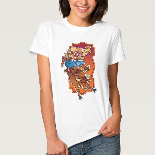Cerdo del caballo salvaje tee shirt
