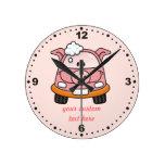 Cerdo del Carwash Relojes