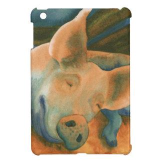 Cerdo del cerdo iPad mini fundas