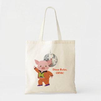 Cerdo del disco bolsa