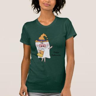 Cerdo del fantasma (personalizable) tshirts