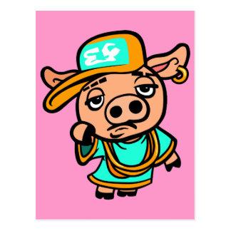 Cerdo del ghetto postal