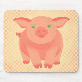 Cerdo del guión tapete de ratón