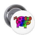 Cerdo del hippy pin