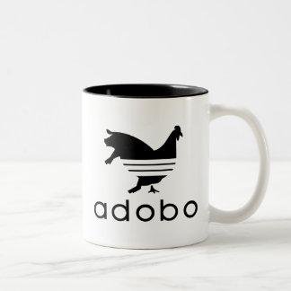 Cerdo del pollo del Adobo Taza De Café