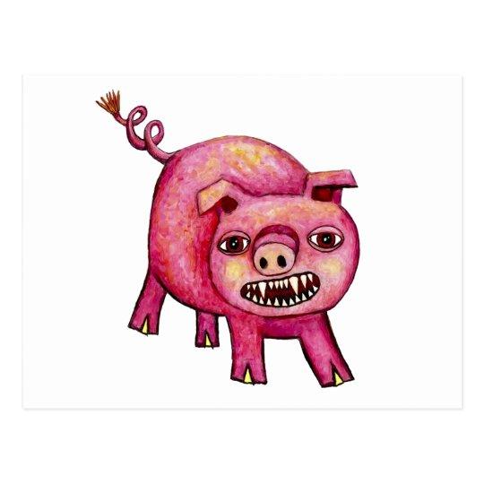 Cerdo del vampiro postales