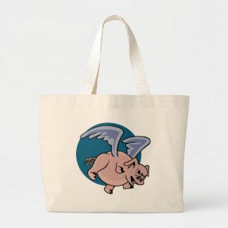 Cerdo del vuelo bolsas de mano