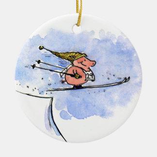 Cerdo del vuelo - día de fiesta fresco del cerdo d adorno