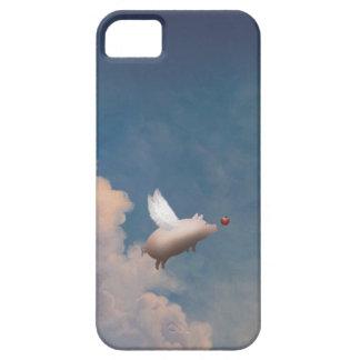 cerdo del vuelo iPhone 5 carcasas