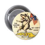 Cerdo del yanqui - botón pin