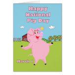 Cerdo día 1 de marzo nacional felicitaciones
