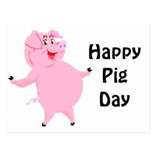 Cerdo día 1 de marzo nacional postal