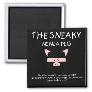 Cerdo disimulado de Ninja Iman