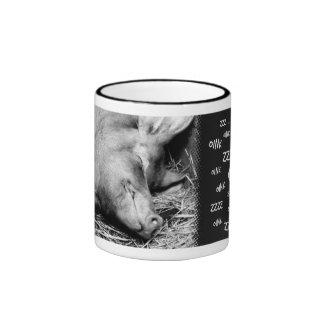 Cerdo el dormir (Oink… Zzz…) - Tazas animales de l