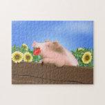 Cerdo en cacerola rompecabeza con fotos