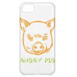 cerdo enojado