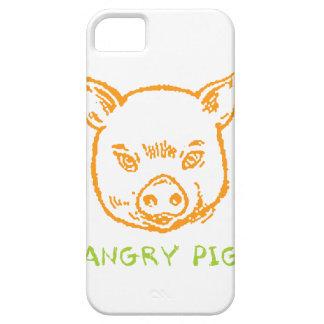 cerdo enojado funda para iPhone SE/5/5s