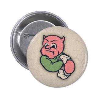 Cerdo-enojado-HASTA Pin Redondo 5 Cm