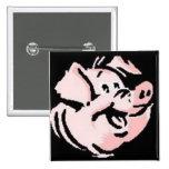 Cerdo feliz pin