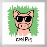 Cerdo fresco impresiones