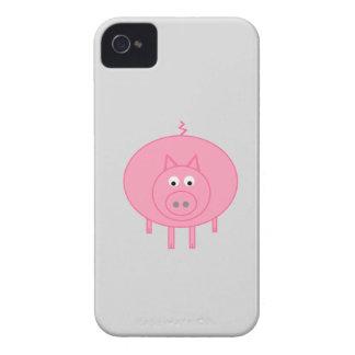¡Cerdo gordo! Carcasa Para iPhone 4 De Case-Mate