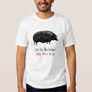 Cerdo gordo grande del vintage camisas