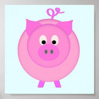 Cerdo guarro póster