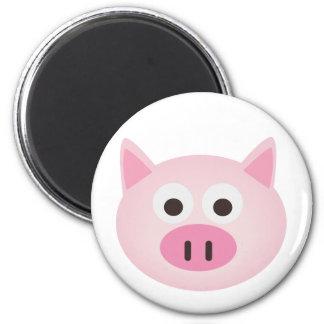 Cerdo Imán Redondo 5 Cm