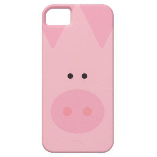 ¡Cerdo! iPhone 5 Case-Mate Funda