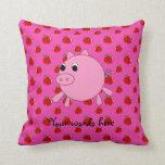 Cerdo lindo almohadas