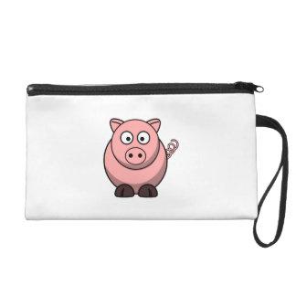 Cerdo lindo del dibujo animado