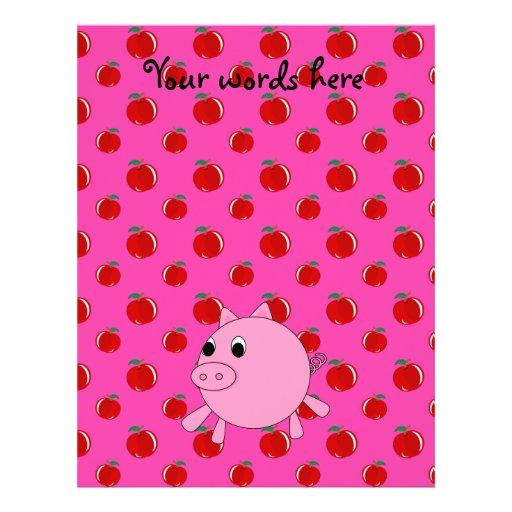 """Cerdo lindo folleto 8.5"""" x 11"""""""