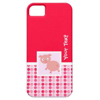Cerdo lindo iPhone 5 Case-Mate cárcasa